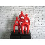 Deco object Family Red